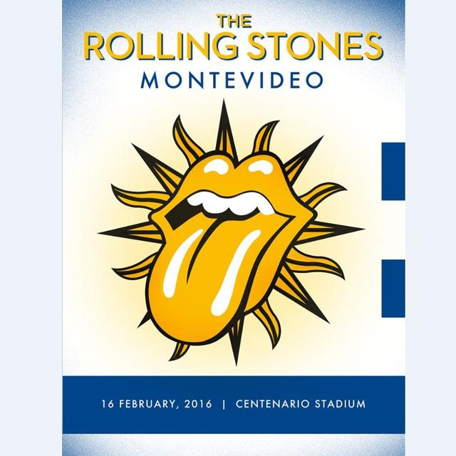 The Rolling Stones Montevideo, Uruguay Lithograph