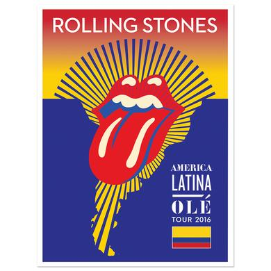 The Rolling Stones RS Colombia Litho