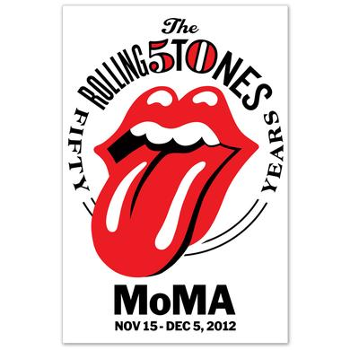 Rolling Stones MoMA Lithograph