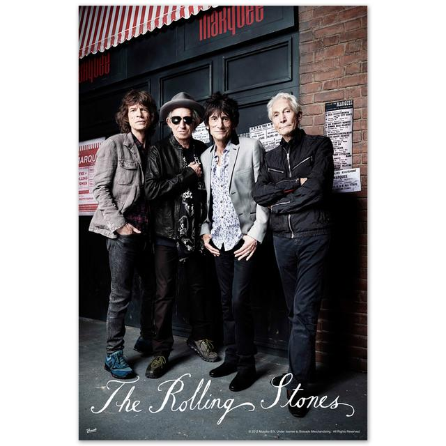 The Rolling Stones RS 50 Photo Poster