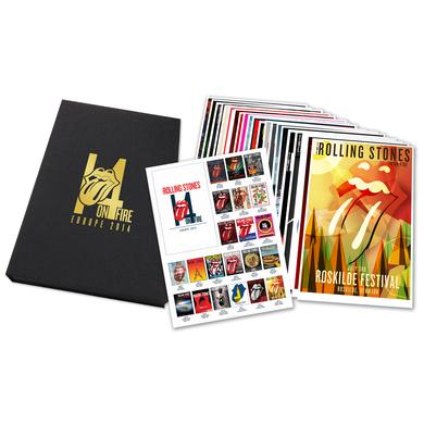 The Rolling Stones The Deluxe European Tour Lithograph Set