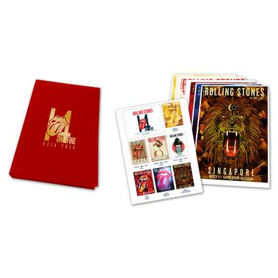 The Rolling Stones The Deluxe Asian Tour Lithograph Set