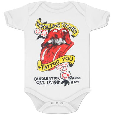 Rolling Stones Tattoo You Romper