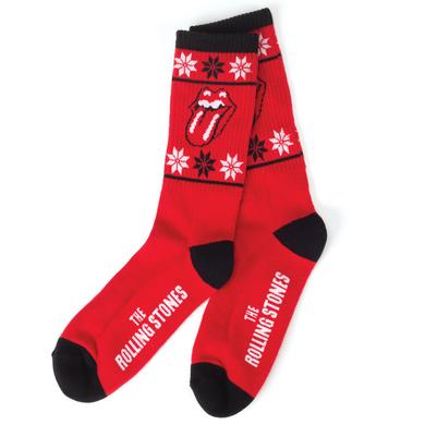Rolling Stones Holiday Socks