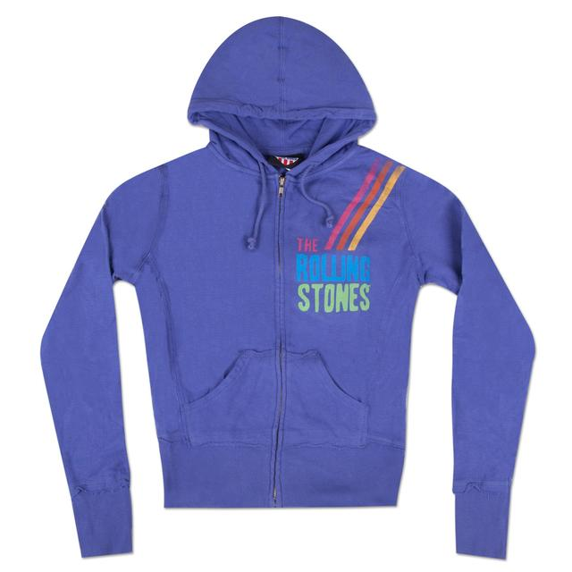 Rolling Stones She's A Rainbow Zip Hoodie