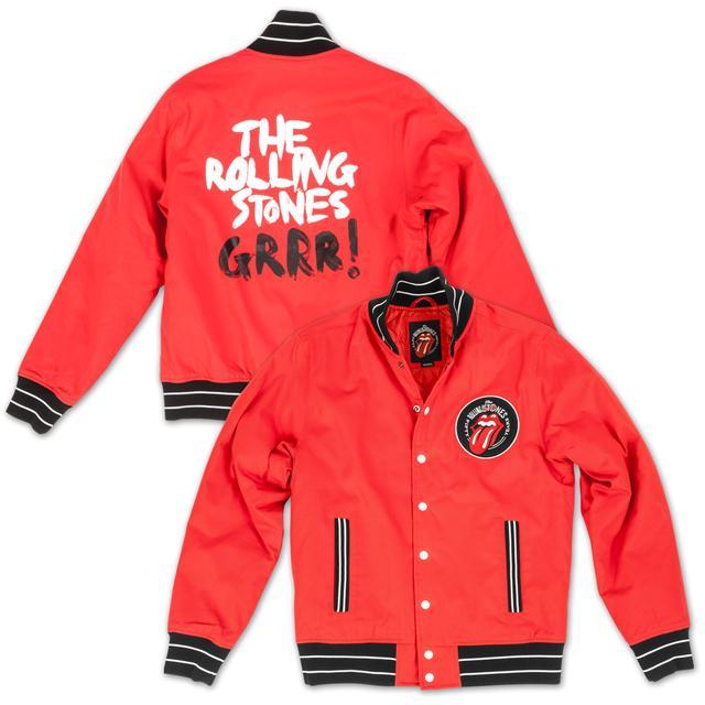 The Rolling Stones GRRR! Baseball Varsity Jacket