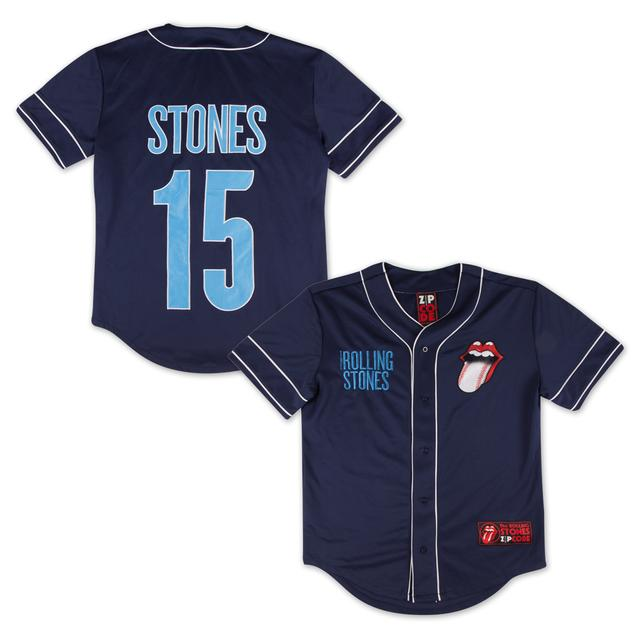 Rolling Stones San Diego Baseball Jersey