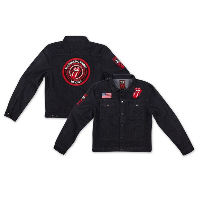 Rolling Stones Zip Code Tour Jacket - Denim Jacket