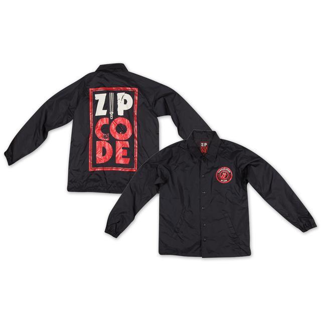 Rolling Stones Zip Code Coaches Jacket