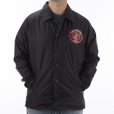 Rolling Stones Zip Code Coaches Jacket