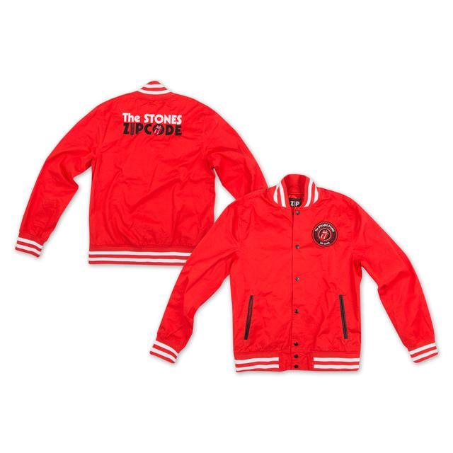 Rolling Stones Zip Code Varsity Jacket