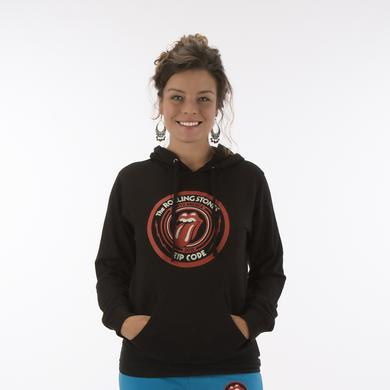 Rolling Stones Zip Code Logo Junior Hoodie