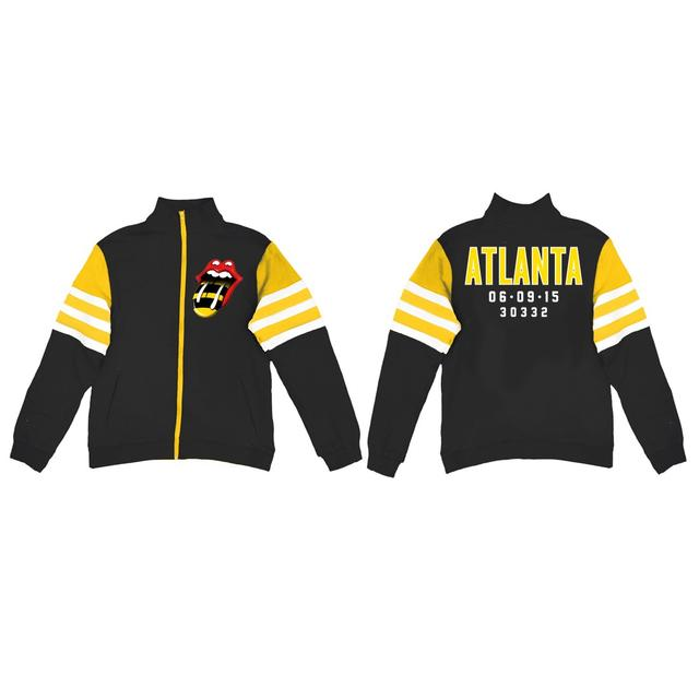 Rolling Stones Atlanta Event Striped Sleeve Track Jacket