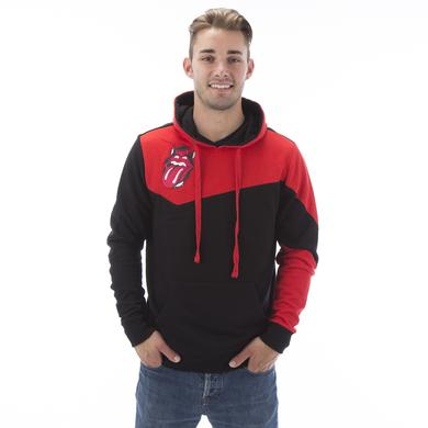Rolling Stones Raleigh Color Block Pullover Hoodie