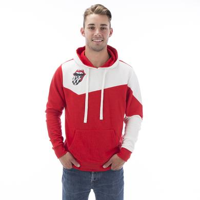 Rolling Stones Indianapolis Event Color Block Pullover Hoodie