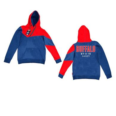 Rolling Stones Buffalo Event Color Block Pullover Hoodie