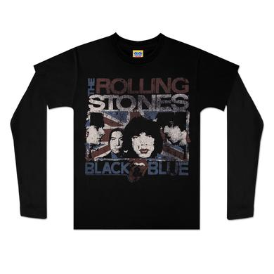 Rolling Stones Black & Blue Youth Twofer T-Shirt