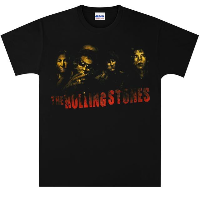 Rolling Stones Smoke Band T-Shirt