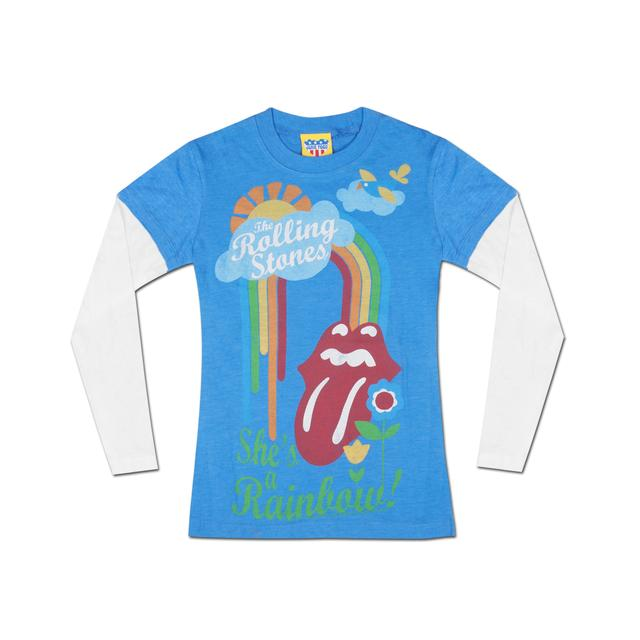 Rolling Stones She's A Rainbow Youth Twofer T-Shirt
