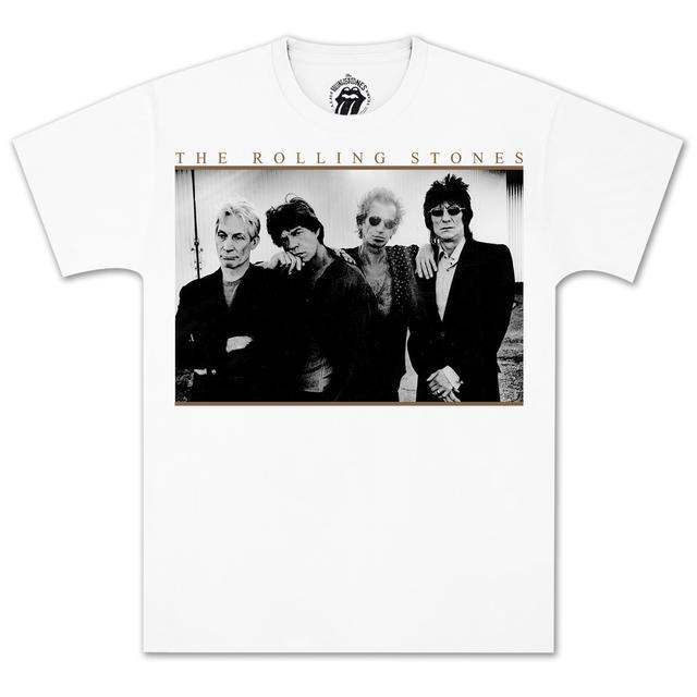 Rolling Stones 50th Annivesary Band Smoke T-Shirt