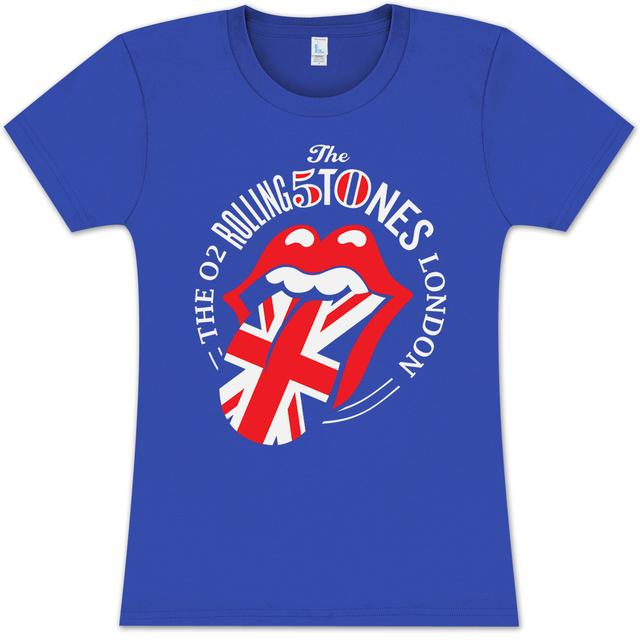 Rolling Stones 50th Anniversary London Girlie T-Shirt
