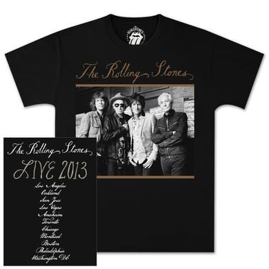 Rolling Stones 50th Black & White T-Shirt