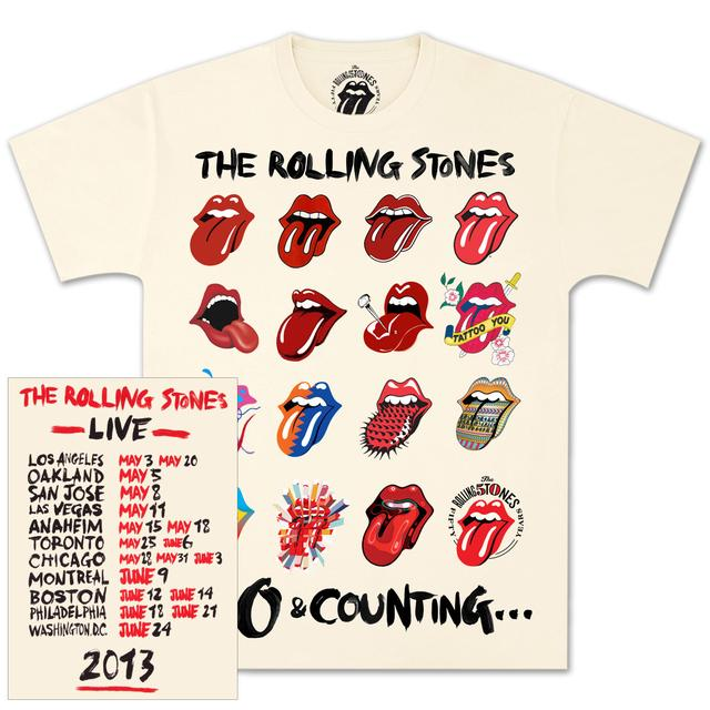 Rolling Stones Tongue Evolution T-Shirt