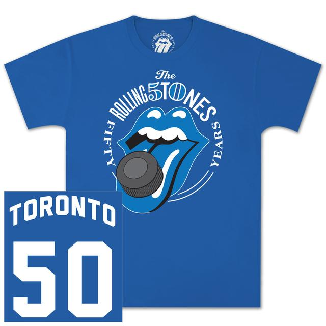 The Rolling Stones 50 And Counting Toronto Event T-Shirt