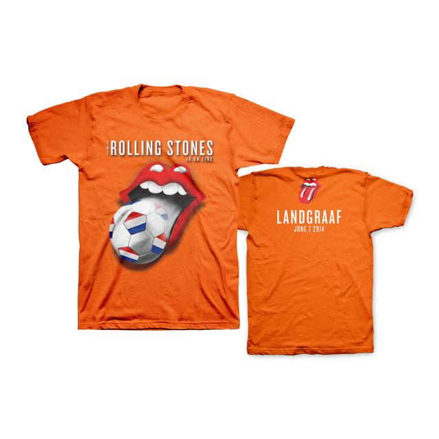 Rolling Stones Landgraaf Soccer T-Shirt