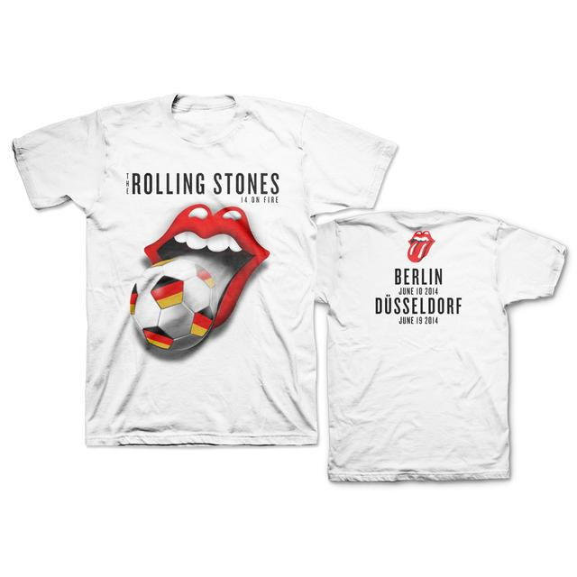 Rolling Stones Germany Soccer T-Shirt