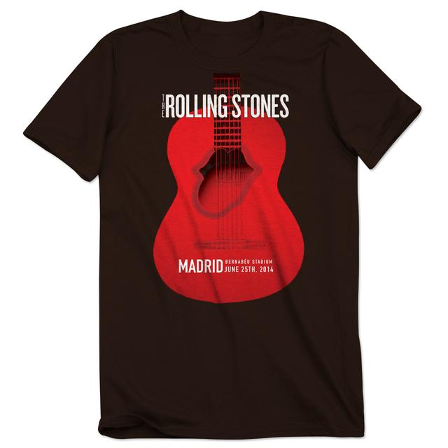 Rolling Stones Madrid Guitar Event T-Shirt