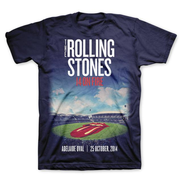 Rolling Stones Adelaide Oval T-Shirt