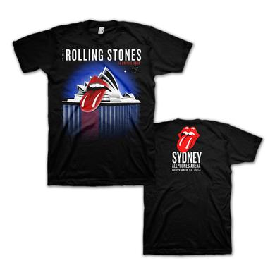 Rolling Stones Sydney Bennelong Point T-Shirt