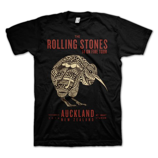 Rolling Stones Auckland Kiwi T-Shirt