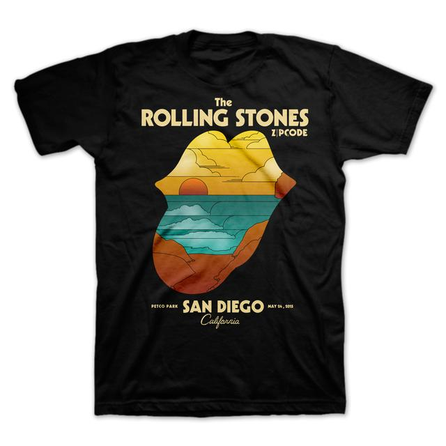 Rolling Stones San Diego Sunset Event T-Shirt