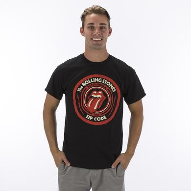 Rolling Stones Zip Code Tour Merch - Circle Logo Tour T-shirt