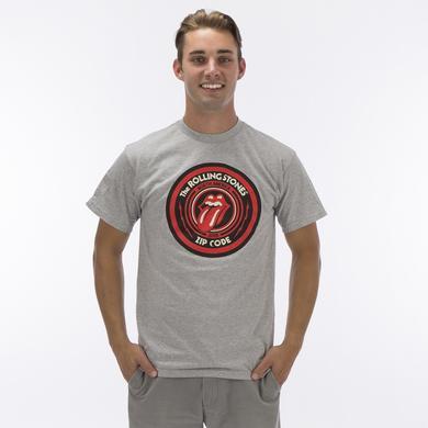Rolling Stones Zip Code Circle Logo Tour T-shirt