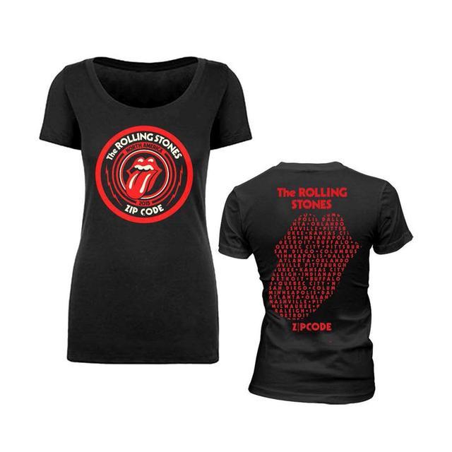 Rolling Stones Zip Code Logo Babydoll