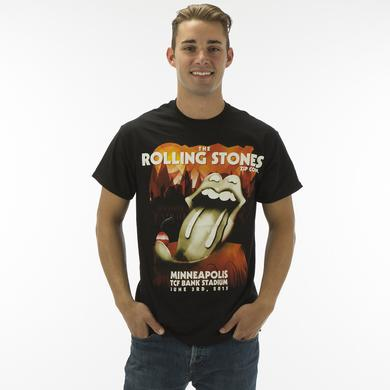Rolling Stones Minneapolis Spoon Tongue Event T-Shirt