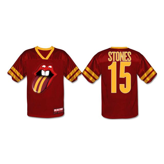 Rolling Stones Minneapolis Football Jersey