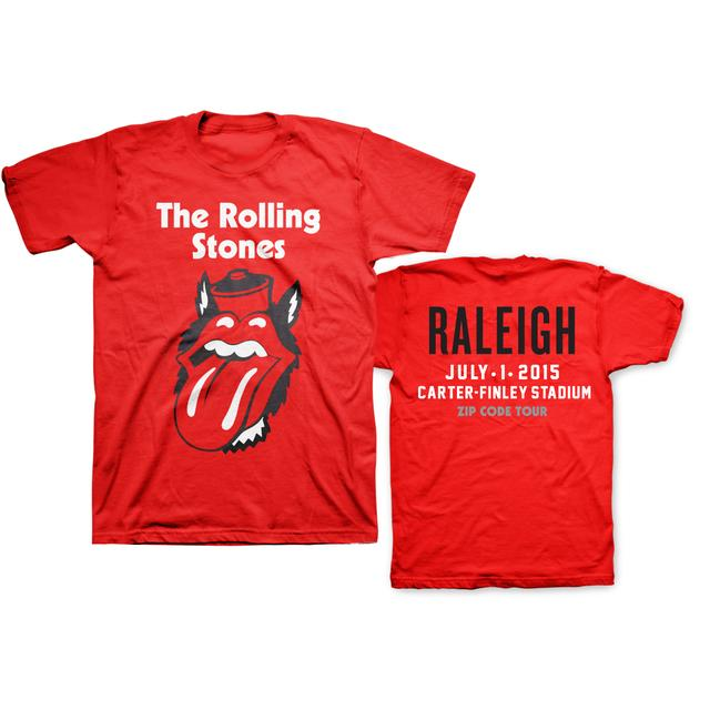 Rolling Stones Raleigh Event T-Shirt