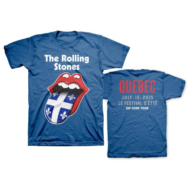 Rolling Stones Quebec Event T-Shirt