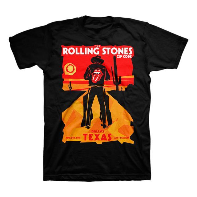 Rolling Stones Dallas Cowboy T-Shirt