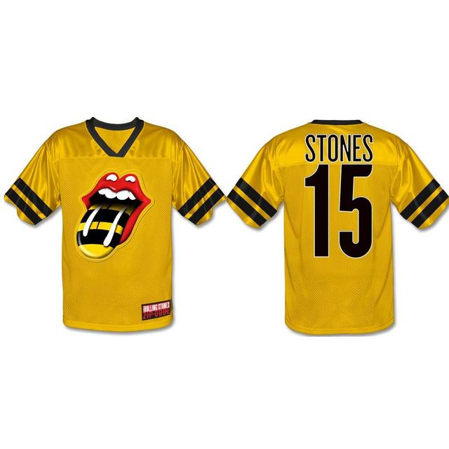 Rolling Stones Atlanta Event Football Jersey