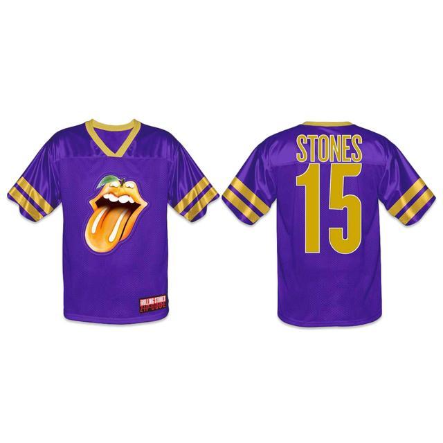 Rolling Stones Orlando Event Football Jersey
