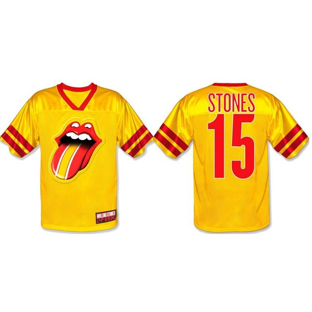 Rolling Stones Kansas City Event Football Jersey