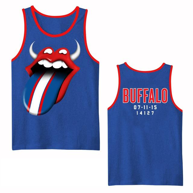 Rolling Stones Buffalo Event Contrast Tank Jersey
