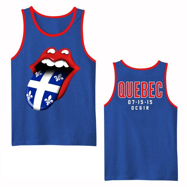 Rolling Stones Quebec Event Contrast Tank