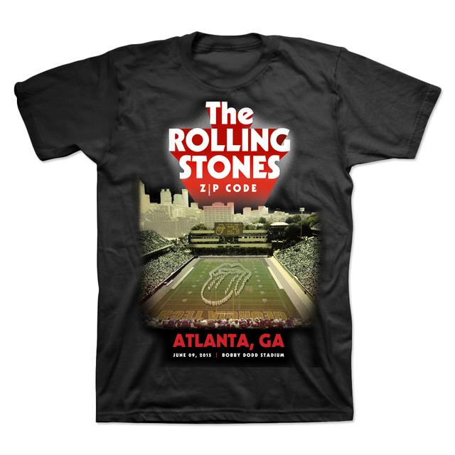 Rolling Stones Atlanta Event Stadium T-Shirt - Black