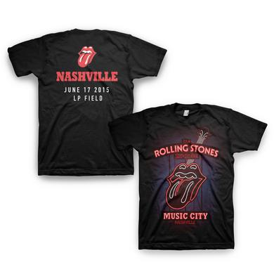 Rolling Stones Nashville Music City T-Shirt